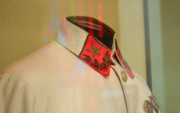 Military uniforms of Soviet troops Stock Image