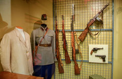 Military uniforms of Soviet troops Stock Images