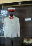 Military uniforms of Soviet troops Royalty Free Stock Photo