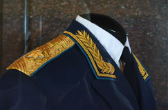 Military uniforms of Soviet troops Stock Photography