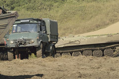 Military Unimog Royalty Free Stock Images