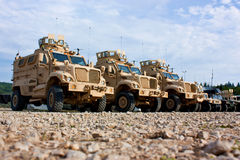 Military vehicle Royalty Free Stock Photo