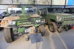 Military Vehicle Stock Image