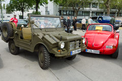 Military vehicle DKW Munga by Auto Union Stock Photography