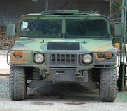 Military Vehicle Hummer Royalty Free Stock Image