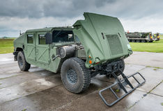 Military vehicle Stock Image