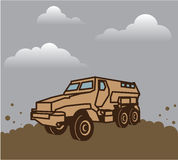 Military Vehicle Royalty Free Stock Image