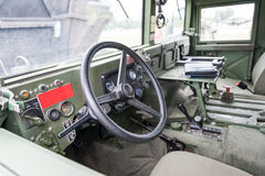 Military vehicle interior Stock Images