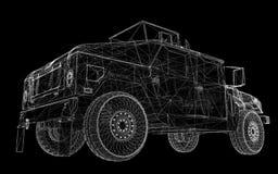 Military Vehicle Royalty Free Stock Image