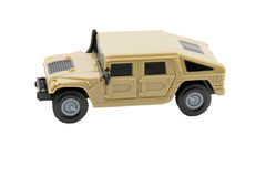 Military vehicle toy Royalty Free Stock Image