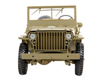 Military vehicle toy Royalty Free Stock Photos