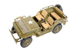 Military vehicle toy Royalty Free Stock Photography