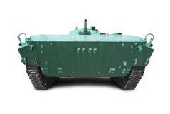 Military vehicle on tracks Stock Image