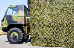 Military vehicle truck Royalty Free Stock Images