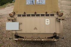 Military vehicle Royalty Free Stock Photo