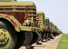 Military vehicles Royalty Free Stock Photo
