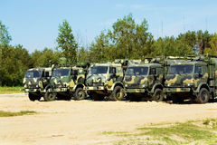 Military vehicles Stock Images