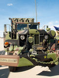 Military Vehicles Stock Photography