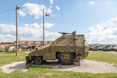 Military vehicles in Croatia, after the Royalty Free Stock Photos