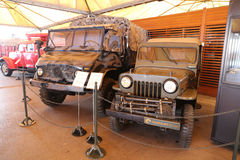 Military vehicles in Koc Museum Royalty Free Stock Images