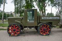 Military vehicles of the Second World War Royalty Free Stock Photos