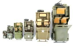 Military vehicles toys Royalty Free Stock Photo