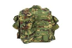 Military vest isolated on white background. Military vest isolated on the white background stock photo