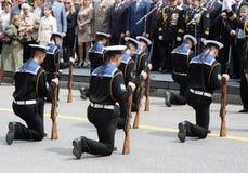 Military Victory Parade - Sevastopol, Ukraine Royalty Free Stock Images