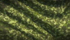 Military war background camouflage khaki fabric texture stock image