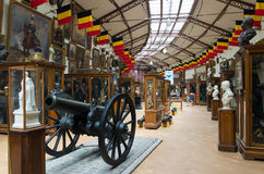 Military and war museum in brussels Royalty Free Stock Photo