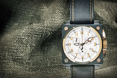 Military watch Royalty Free Stock Photo