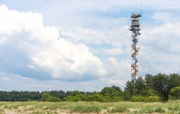 Military watch tower. Royalty Free Stock Photo