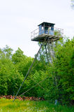 Military Watch Tower Stock Image