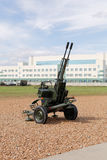 Military weapon, guns and canons. Stock Image