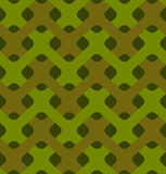 Military weaving seamless pattern. Army abstract plexus texture. Stock Photography