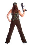 Military Woman Royalty Free Stock Photography