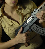 Military woman 6 Stock Images
