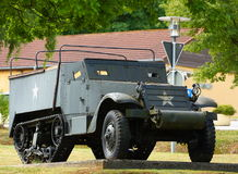 Military WWII Half Track Stock Photos