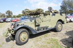 militate Światło Opancerzony pojazd Obrazy Royalty Free