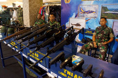 Militay equipmen Stock Image