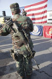 Militia for freedom. Stock Photos