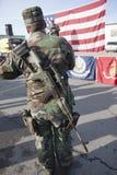Militie voor vrijheid. Stock Foto's
