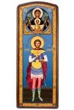 militinsky ortodox saint för eugenesymbol Royaltyfri Fotografi