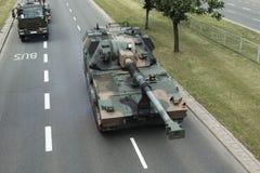 Militär behållare Arkivfoton