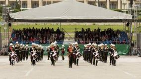 Militär kunglig musikband från Förenade kungariket Royaltyfri Fotografi