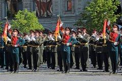 Militär musikband Royaltyfri Fotografi