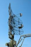 militär radar Arkivbilder