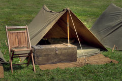 Militärlager Lizenzfreies Stockfoto