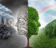 Miljöändring royaltyfria bilder