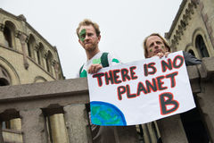 Miljö- aktivister Arkivbilder